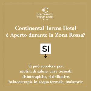 Continental Terme Hotel è Aperto